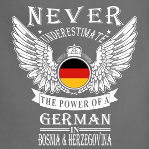German-THe power of an German in Bosnia - Adjustable Apron