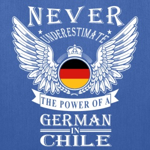 German-The power of a German in Chile tee - Tote Bag