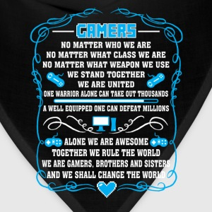 Gamers-Gamers together we rule the world Tee - Bandana
