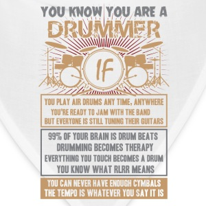 Drummer-Drummer play air drums any time,anywhere - Bandana