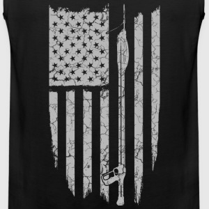 Tas spear-Tas spear fishing flag t-shirt - Men's Premium Tank
