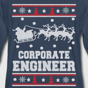 Corporate engineer-Engineer christmas sweater - Men's Premium Long Sleeve T-Shirt