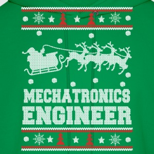 Mechatronics engineer-Engineer christmas sweater - Men's Hoodie