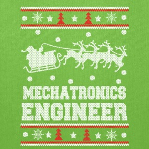Mechatronics engineer-Engineer christmas sweater - Tote Bag