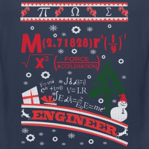 Engineer-Engineer awesome chrismast sweater - Men's Premium Tank