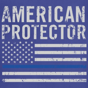 American protector-Flag t-shirt for american - Adjustable Apron