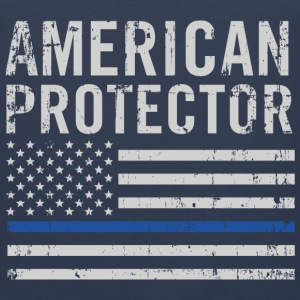 American protector-Flag t-shirt for american - Men's Premium Tank