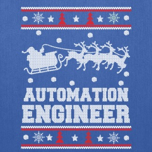 Automation engineer-Engineer Christmas sweater - Tote Bag