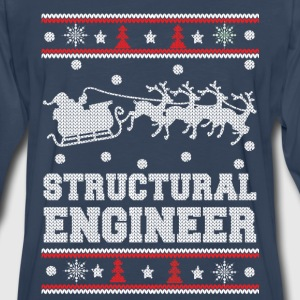 Structural engineer-Awesome christmas sweater - Men's Premium Long Sleeve T-Shirt