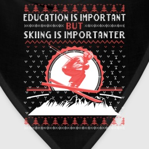 Skiing-Skiing is more important than education - Bandana