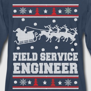 Field service engineer-chrismast awesome sweater - Men's Premium Long Sleeve T-Shirt
