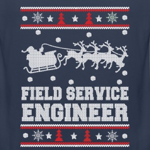 Field service engineer-chrismast awesome sweater - Men's Premium Tank