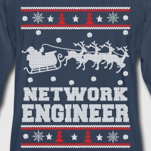 network engineer-chrismast awesome sweater - Men's Premium Long Sleeve T-Shirt