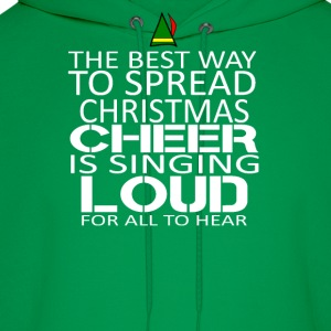 Buddy the elf-The best way to spread christmast - Men's Hoodie