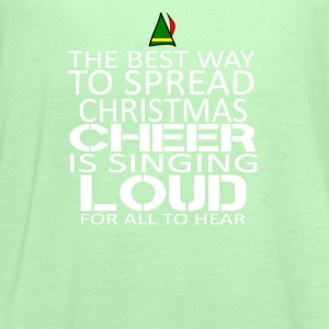 Buddy the elf-The best way to spread christmast - Women's Flowy Tank Top by Bella