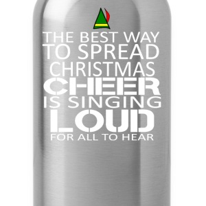 Buddy the elf-The best way to spread christmast - Water Bottle
