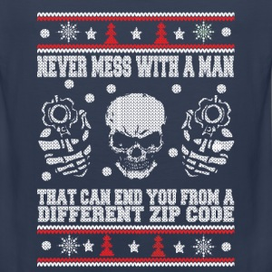 Sniper-Never mess with an sniper awesome tee - Men's Premium Tank