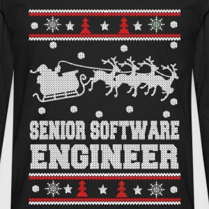 Senior software engineer-Awesome Christmas sweater - Men's Premium Long Sleeve T-Shirt