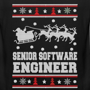 Senior software engineer-Awesome Christmas sweater - Men's Premium Tank