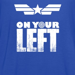Captain america-Captain is on your left t-shirt - Women's Flowy Tank Top by Bella