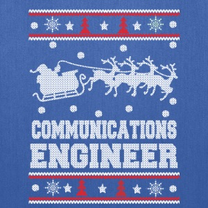 Communications engineer-Christmas awesome sweater - Tote Bag