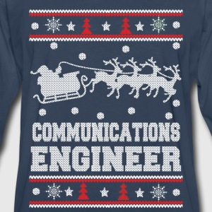 Communications engineer-Christmas awesome sweater - Men's Premium Long Sleeve T-Shirt