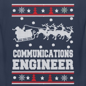 Communications engineer-Christmas awesome sweater - Men's Premium Tank