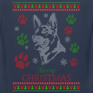 Dog-Ugly christmas sweater for dog lover - Men's Premium Tank