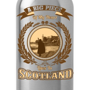 Scotland - A big piece of my heart - Water Bottle
