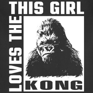 Kingkong-This girl love the Kong t-shirt for fans - Adjustable Apron