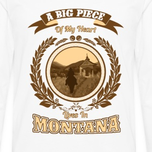 Montana  - Men's Premium Long Sleeve T-Shirt