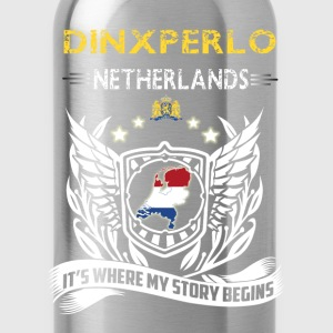 Dinxperlo Netherlands-where my story begins - Water Bottle