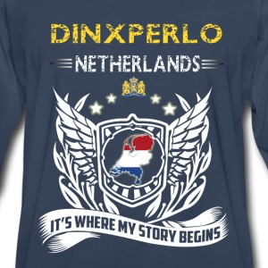 Dinxperlo Netherlands-where my story begins - Men's Premium Long Sleeve T-Shirt