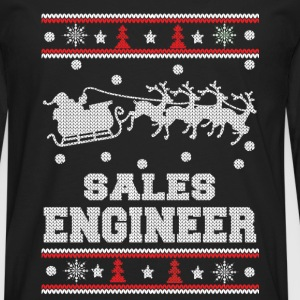 Sales engineer-Engineer Christmas sweater - Men's Premium Long Sleeve T-Shirt