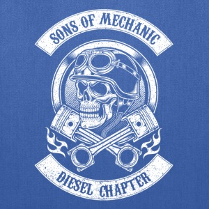 Sons of mechanic-Diesel chapter awesome t-shirt - Tote Bag