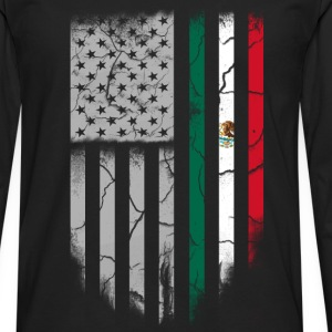 Mexican roots-Mexican roots t-shirt for america - Men's Premium Long Sleeve T-Shirt