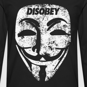 Disobey  - Men's Premium Long Sleeve T-Shirt
