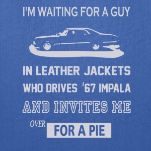 I'm waiting for a guy in leather jackets - Tote Bag