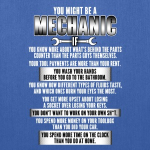 Mechanic  - Tote Bag