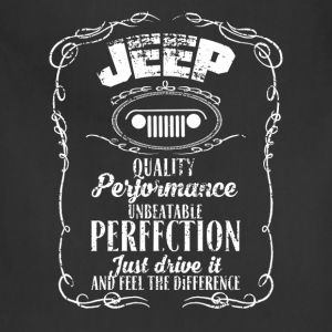 Jeep - Just drive it and feel the difference - Adjustable Apron