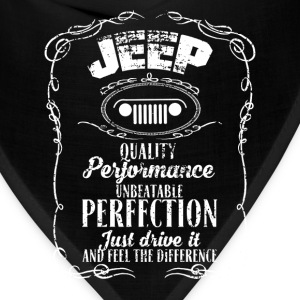 Jeep - Just drive it and feel the difference - Bandana