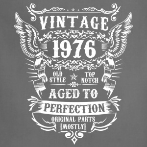 Vintage 1976 birthday - Aged to perfection - Adjustable Apron