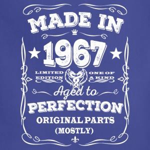 Made in 1967 - Aged to perfection - Adjustable Apron