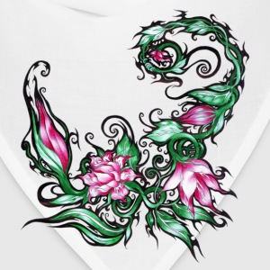 flower design - Bandana
