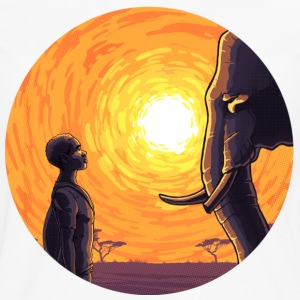 Africa Sun - Men's Premium Long Sleeve T-Shirt