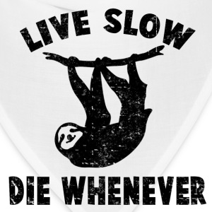 LIVE SLOW DIE WHENEVER - Bandana