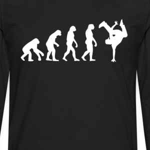 Hip Hop Break Dance Evolution T-Shirt T-Shirts - Men's Premium Long Sleeve T-Shirt