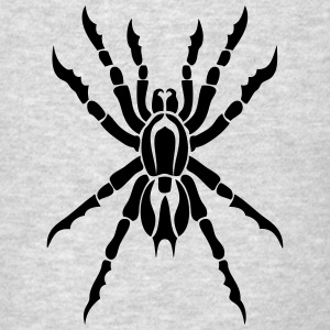 tarantula spider tribal 12 Long Sleeve Shirts - Men's T-Shirt