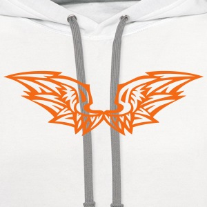 wing birds 60291 T-Shirts - Contrast Hoodie