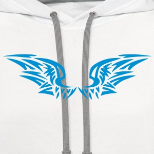 wing birds 60292 T-Shirts - Contrast Hoodie